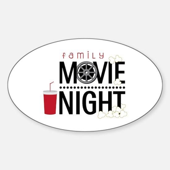 Family Movie Night Stickers