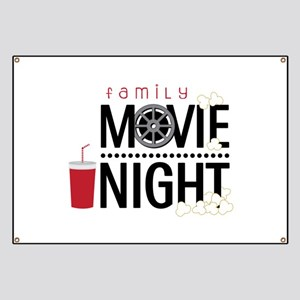Family Movie Night Banner