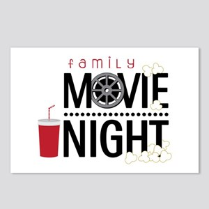 Family Movie Night Postcards (Package of 8)