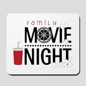 Family Movie Night Mousepad