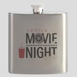 Family Movie Night Flask