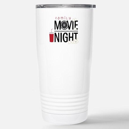 Family Movie Night Travel Mug