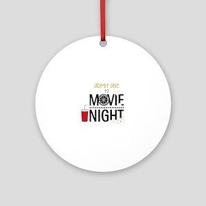 Admit one Movie Ornament (Round)