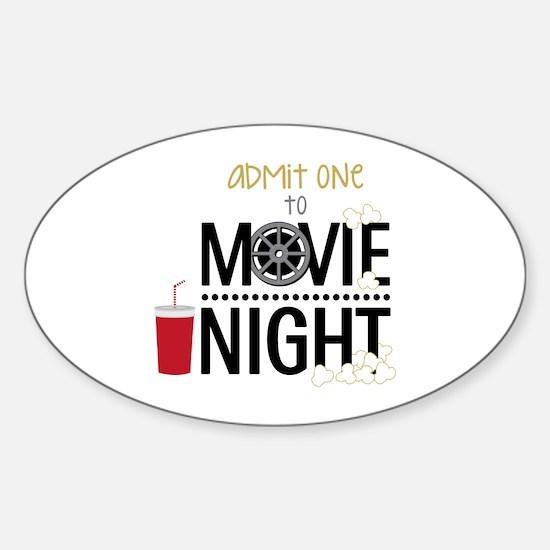 Admit one Movie Bumper Stickers