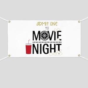 Admit one Movie Banner