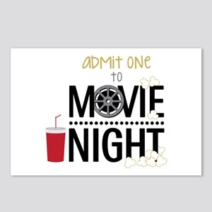 Admit one Movie Postcards (Package of 8)
