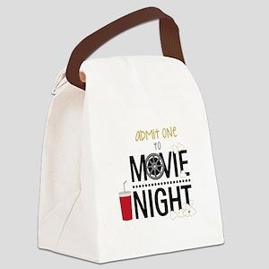 Admit one Movie Canvas Lunch Bag