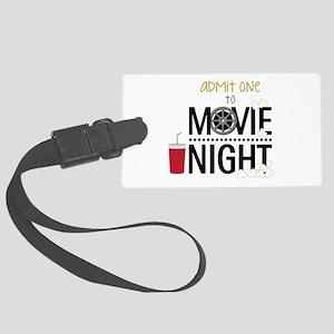 Admit one Movie Luggage Tag