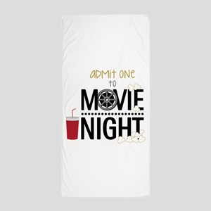 Admit One Movie Beach Towel
