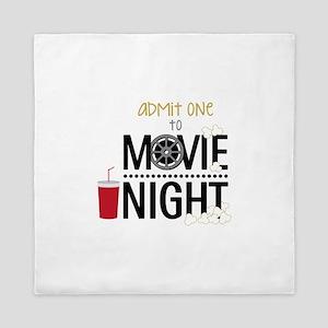 Admit one Movie Queen Duvet
