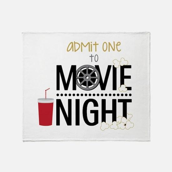 Admit one Movie Throw Blanket