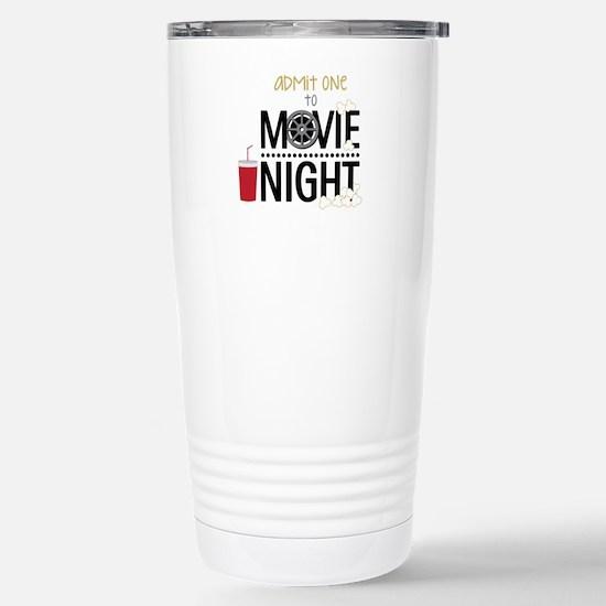 Admit one Movie Travel Mug