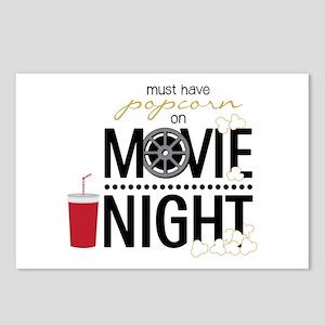 Movie Night Pop Postcards (Package of 8)
