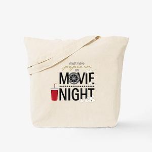 Movie Night Pop Tote Bag