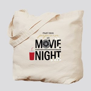 Movie Night Pop Tote Bag