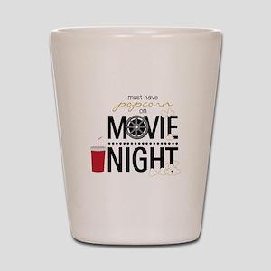 Movie Night Pop Shot Glass