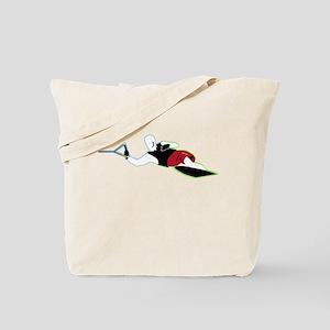 Slalom WaterSkier Reach Tote Bag