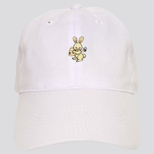 BUNNY WITH BEE AND HIVE Baseball Cap