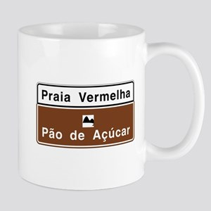 Red Beach/ Sugarloaf Mountain, Brazil Mug