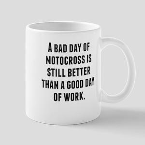 A Bad Day Of Motocross Mugs
