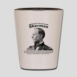 Sherman: Eternal Shot Glass