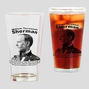 Sherman: Eternal Drinking Glass