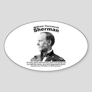 Sherman: Eternal Sticker (Oval)