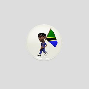 Tanzania Boy Mini Button