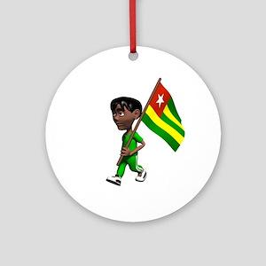 Togo Boy Ornament (Round)