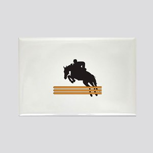 HORSE JUMPING Magnets