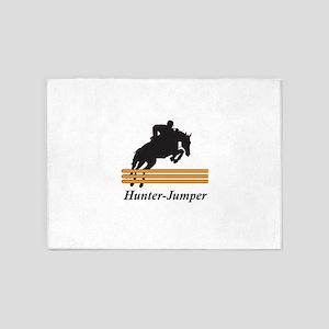 HUNTER JUMPER 5'x7'Area Rug