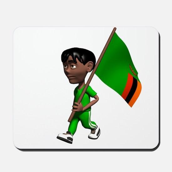 Zambia Boy Mousepad