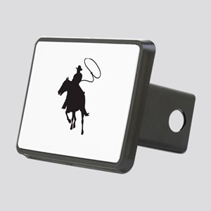 ROPING COWBOY Hitch Cover