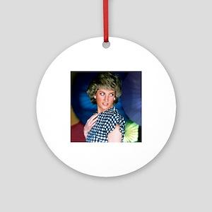 HRH Princess Diana Iconic! Ornament (Round)