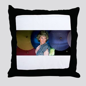 HRH Princess Diana Iconic! Throw Pillow