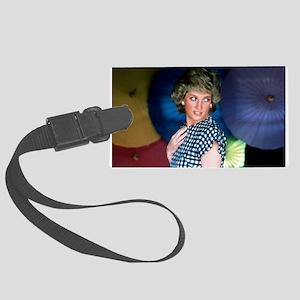 HRH Princess Diana Iconic! Large Luggage Tag