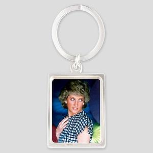 HRH Princess Diana Iconic! Portrait Keychain