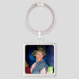 HRH Princess Diana Iconic! Square Keychain