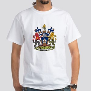 West Yorkshire Coat of Arms White T-Shirt