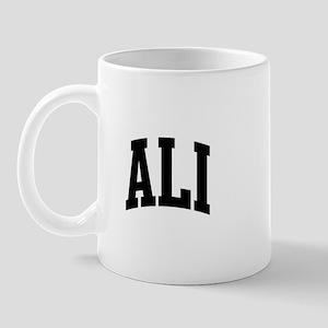 ALI (curve-black) Mug