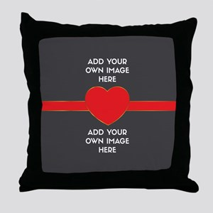 Lovers - Add Your Own Images Throw Pillow