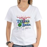 It's not a party without... Women's V-Neck T-Shirt