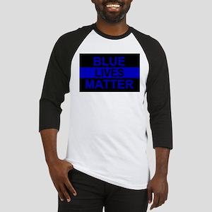 Blue Lives Matter Stripe Baseball Jersey