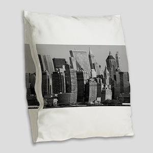 New York City USA Pro Photo Burlap Throw Pillow