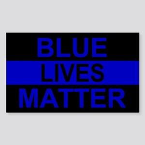 Blue Lives Matter Stripe Sticker
