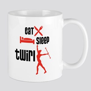 Eat Sleep Twirl (Red) Mug