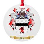 Iles Round Ornament