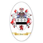 Iles Sticker (Oval 10 pk)