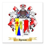 Igesias Square Car Magnet 3