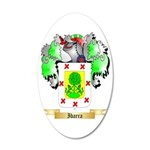 Ibarra 35x21 Oval Wall Decal